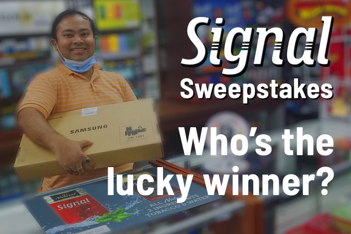 Signal Sweepstakes Winner